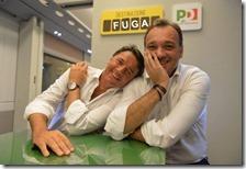 Matteo Renzi e Matteo Richetti