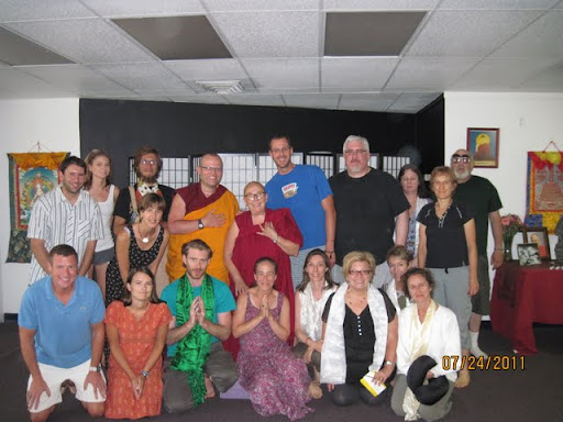 Ven. Robina Courtin visited Lama Yeshe House Study Group in Boulder Colorado, September 2011.
