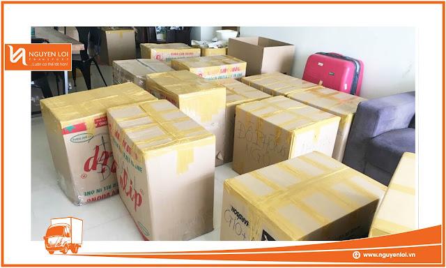 Hàng hóa khách hàng thuê xe tải quận Gò Vấp