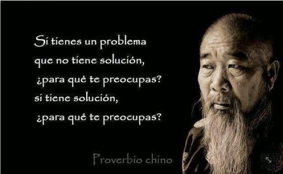 proverbio chino problemas