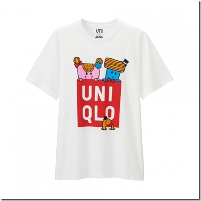 UNIQLO Mr. Men Little Miss UT Graphic T-Shirt man 11