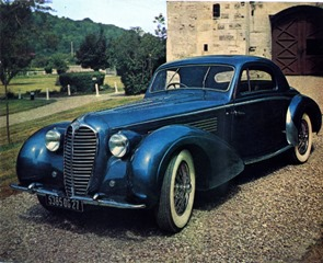 catalogue 5 Delahaye 135 MS Coupé Chapron 1948