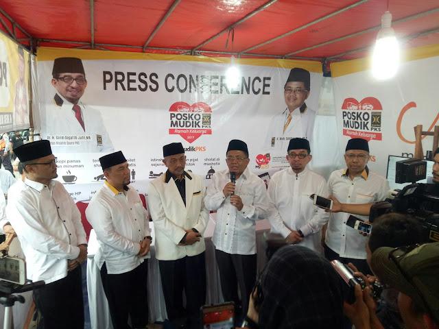 DPP PKS Bangun 125 Posko Mudik