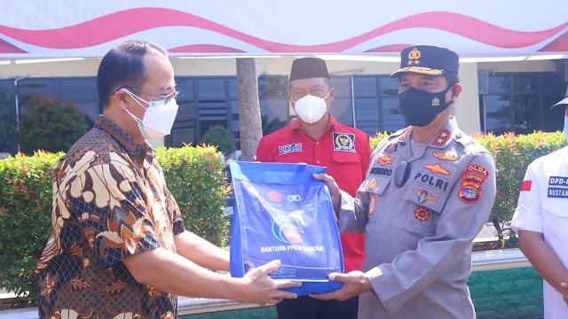 100 Ton Beras dari PT. Sinar Jaya Agro Investama, Disalurkan Melalui Polda Lampung untuk Masyarakat