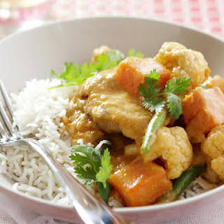 Chicken and Cauliflower Curry.