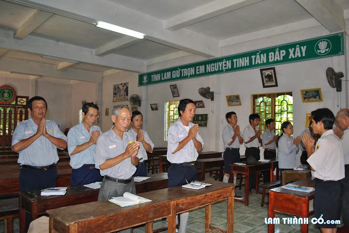 GĐPT Khu vực Thị xã Quảng Trị họp triển khai thành lập Đoàn kỹ năng