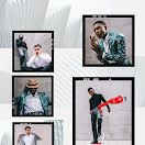 Stylish Men - Photo Collage item