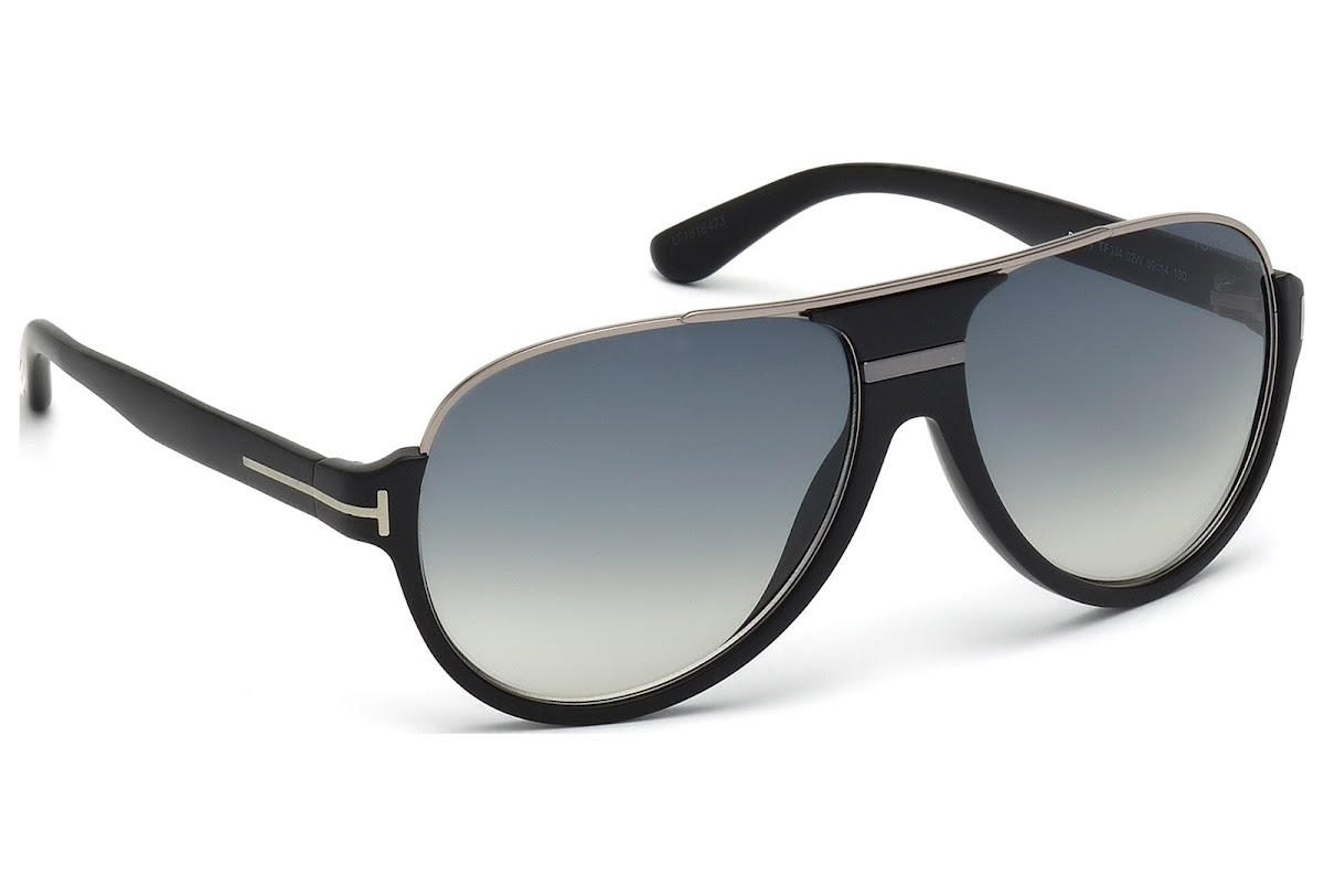 98a71f9400d ... Tom Ford Dimitry FT0334 C59 02W (matte black   gradient blue). Sale