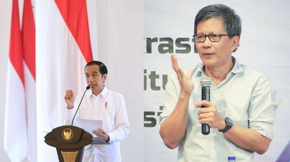 Sebut Jokowi Presiden Gila Pujian, Rocky Gerung: Itu Sebuah Gejala Kejiwaan