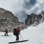 aneto et descente par l'estasen en ski