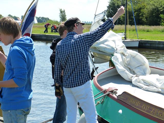 Zeilen met Jeugd met Leeuwarden, Zwolle - P1010442.JPG