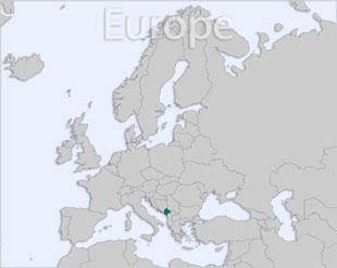 Montenegro location map