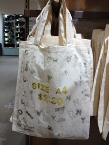 dfdf1d8cf4 DIY :: Stamp your own Muji Bag — Scissors Paper Stone - A Singapore ...