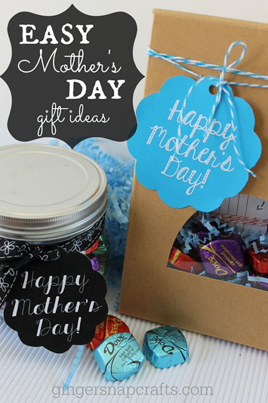 Easy Mother's Day Gift Ideas from GingerSnapCrafts.com #sharethedove #spon_thumb[7]