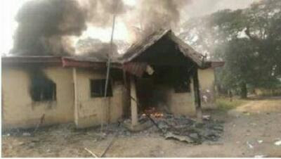 Dsiec office set ablaze by youths on Election