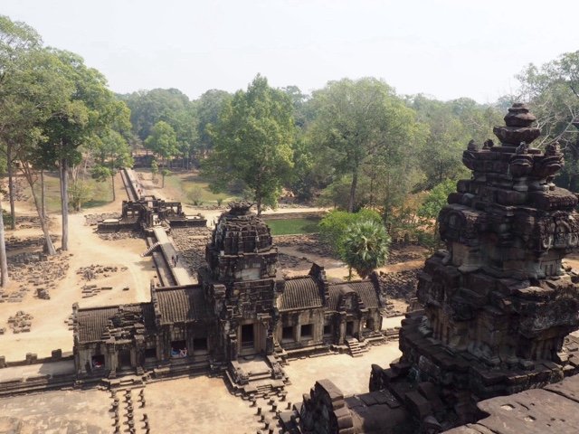View from Baphuon temple in Angkor Thom
