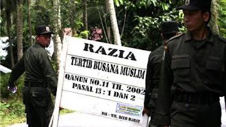 Tim Terpadu Penegakan Syariat Islam Banda Aceh Lakukan Pengawasan Penerapan Syariat Islam