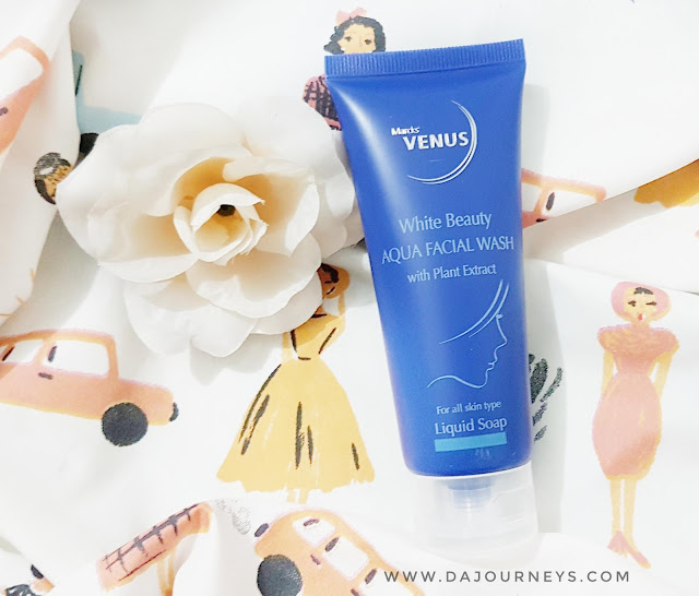 Review Marcks' Venus White Beauty Aqua Facial Wash