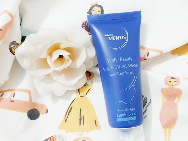 [Review] Marcks' Venus White Beauty Aqua Facial Wash
