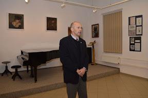Vernisáž výstavy Události jara 1945 v Kralupech 19.3.2015