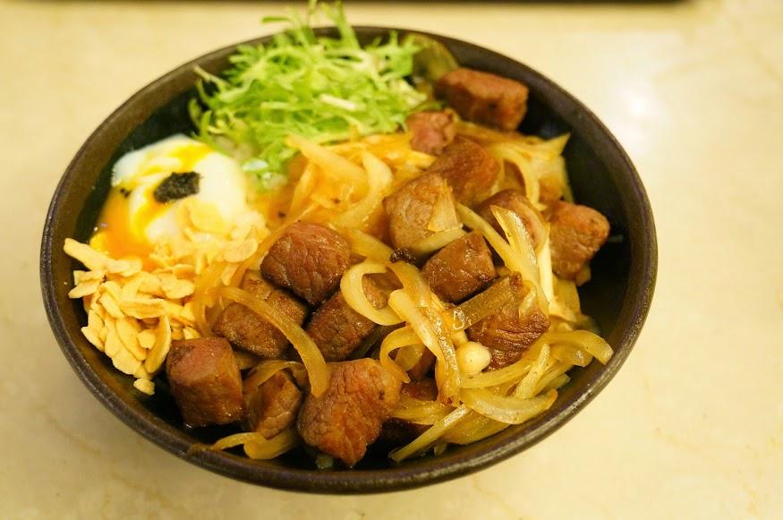 台北美食推薦-地表最強燒肉丼【開丼燒肉VS丼飯】微風廣場分店