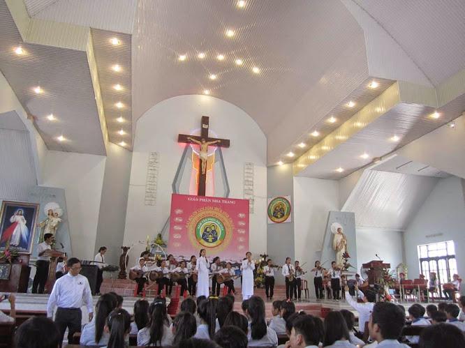 Giới Trẻ Khiết Tâm tham gia Đại Hội Ơn Thiên Triệu miền Ninh Thuận