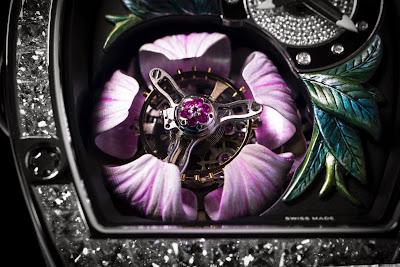 Richard Mille RM 19-02 Tourbillon Fleur Watch Baselworld 2015 Basel 3