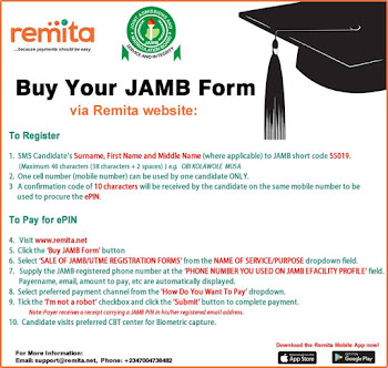 Buy jamb form