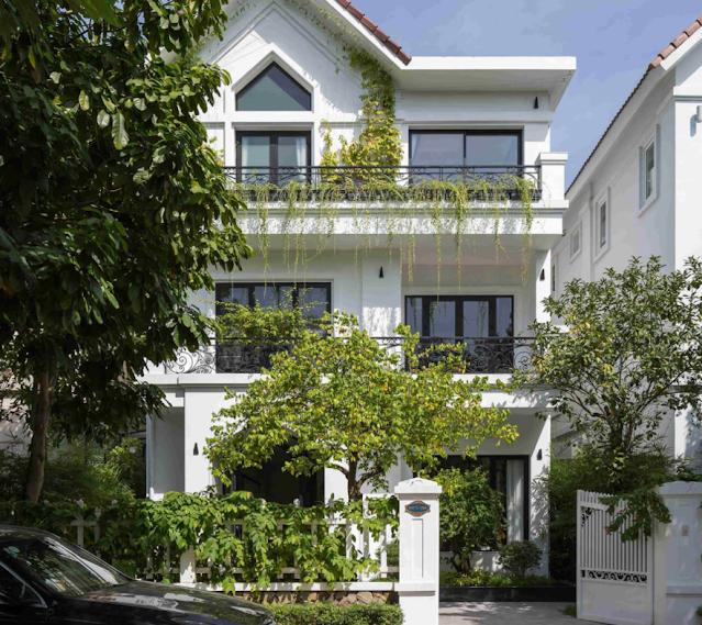 Mẫu nhà vườn nằm trong khu đô tại Hà Nội