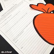 Creepy Carrots writing lesson plan for Halloween