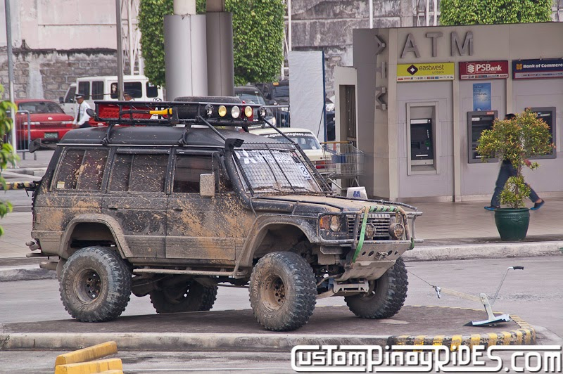1st Generation Mitsubishi Pajero 4-Door Mud Monster Custom Pinoy Rides Car Photography Manila Philippines