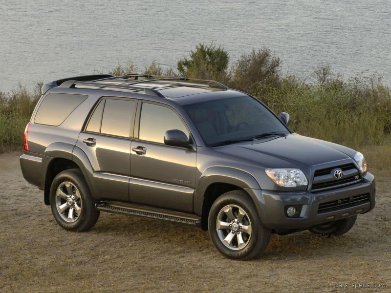 2005 toyota 4runner suv specifications pictures prices. Black Bedroom Furniture Sets. Home Design Ideas