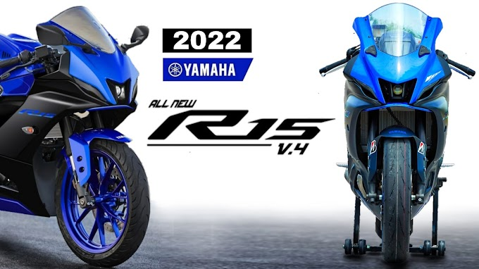 2022 Yamaha YZF-R15 V4 is here