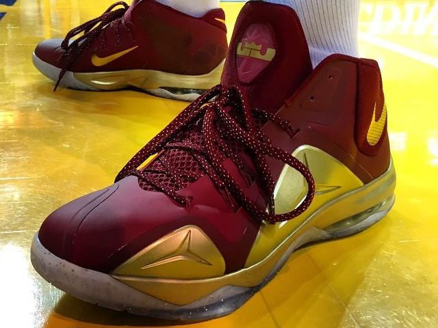 Hot Cheap Nike LeBron 12 Fairfax Playoff PE