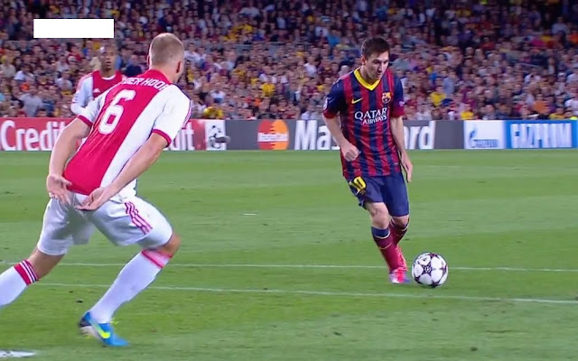Messi, Barcelona - Ajax
