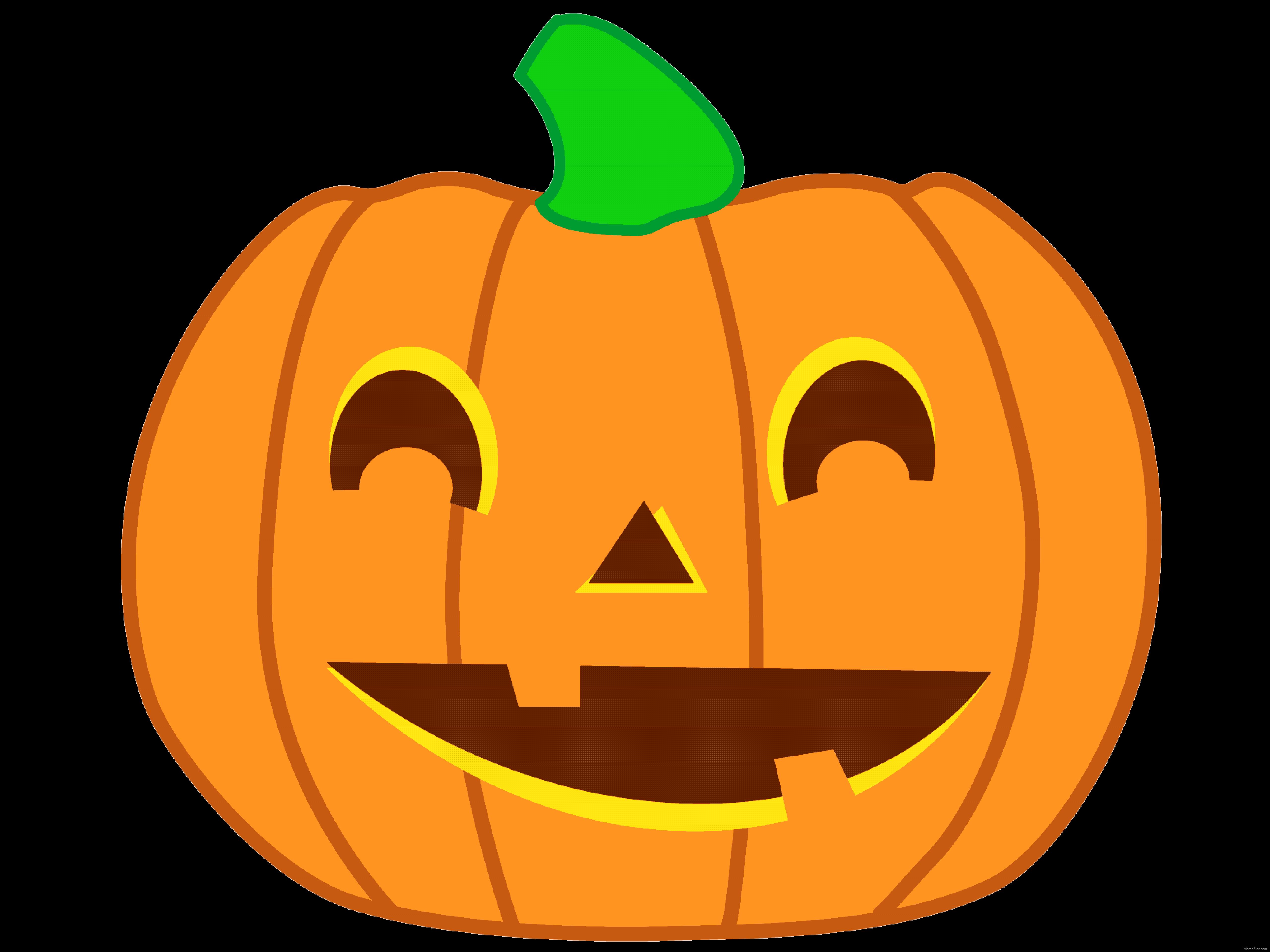 Dibujos Para Colorear De Calabazas De Halloween Para Imprimir: Halloween: Cliparts De Calabazas (Alta Calidad