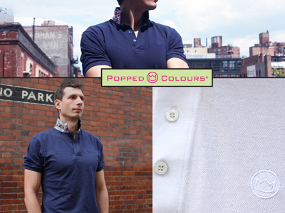 Popped Colours Polo Shirts