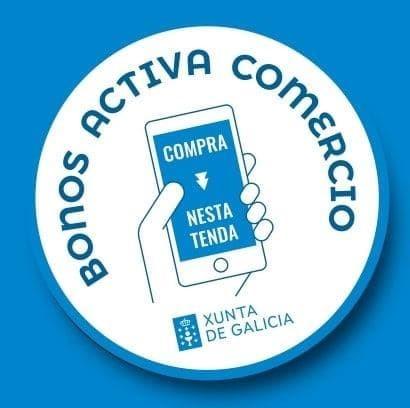 COMERCIOS de Vilagarcía con Bonos Activa Comercio de la Xunta de Galicia