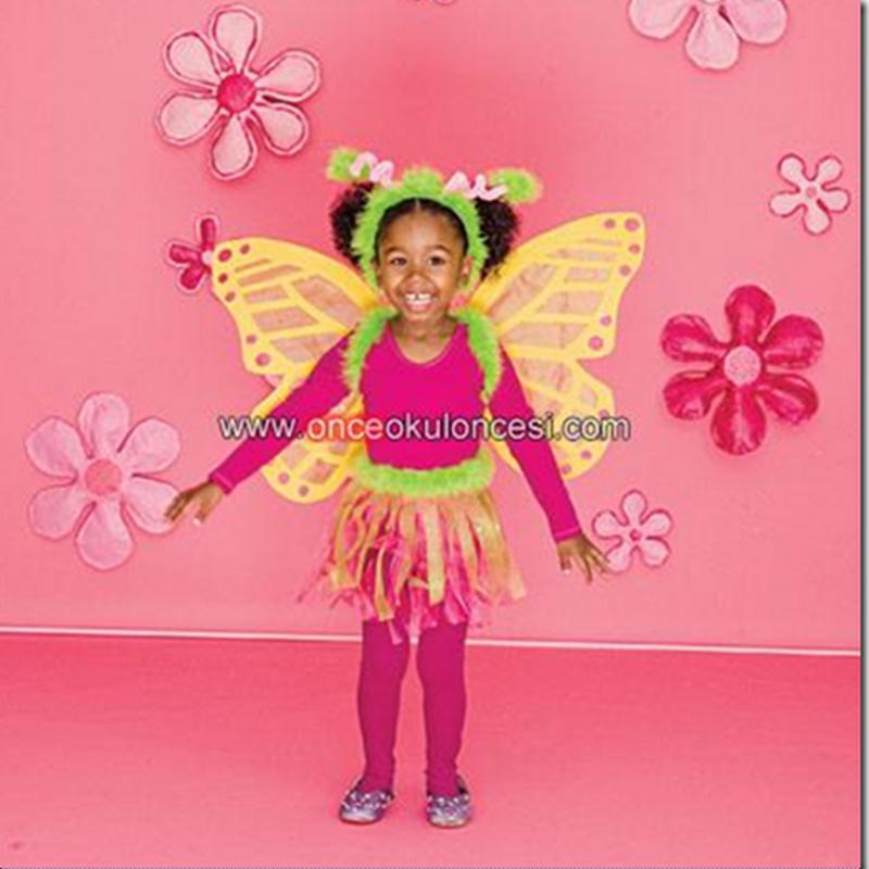 Disfraz casero fácil de mariposa