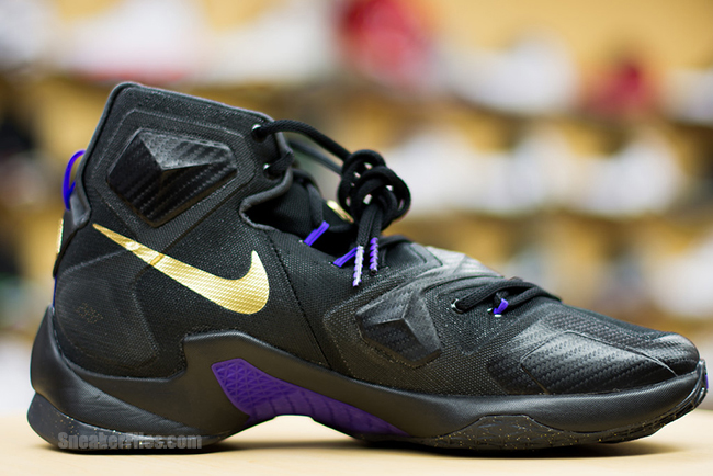 womens nike lebron 13 gold black