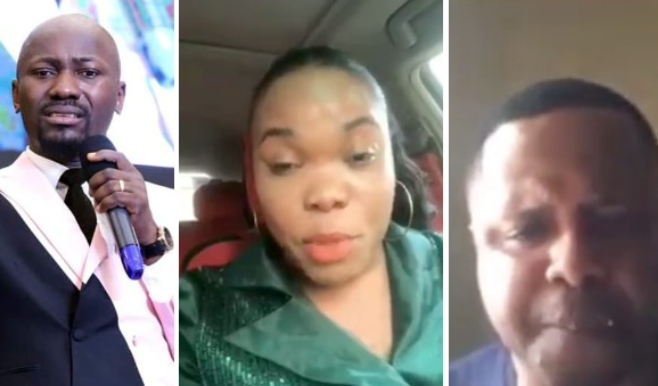 Update: Wife of Pastor Mike Davids who accused Apostle Johnson Suleman of sleeping with her, breaks her silence (videos)