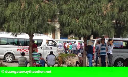 Hình 2: Khách Việt vẫn đổ sang Campuchia đánh bài