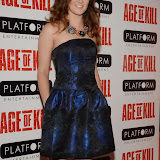 OIC - ENTSIMAGES.COM - April Pearson attend the Age of Kill - VIP film Screening inLondon on the 1st April 2015.Photo Mobis Photos/OIC 0203 174 1069