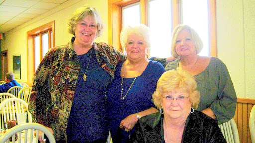 98 Judy Schulz, Janice Temple Lay, Yvonne Wilburn Albaugh, Judy Nutter White