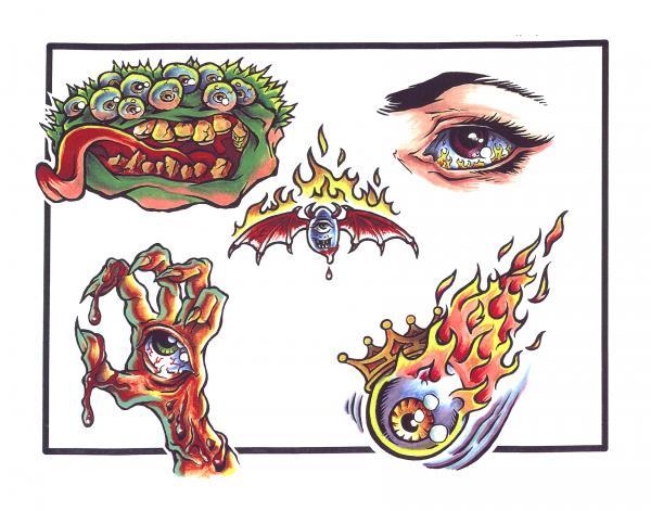 Magical Tattoo Design 5, Fantasy Tattoo Designs