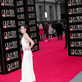 WWW.ENTSIMAGES.COM -   Cush Jumbo     at      The Olivier Awards at Royal Opera House, Covent Garden, London, April 28th 2013                                               Photo Mobis Photos/OIC 0203 174 1069
