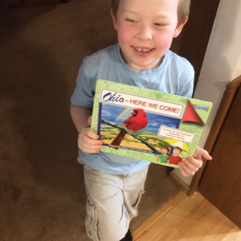 "A book review for ""Ohio! Here We Come!"", published by By The Way Books."