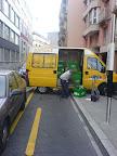 Partout ! :-) Même sur la piste cyclable de la rue des Bains. Photo : Denis.