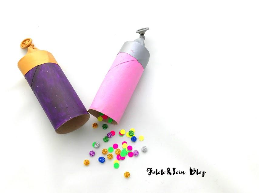 cotillón-nochevieja-canutillos-carton-confetti-cañones-diy-manualidades