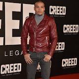 OIC - ENTSIMAGES.COM - Chris Ewbank. Jr at the  Creed - UK film premiere at the Empire Leicester Sq London 12th January 2016 Photo Mobis Photos/OIC 0203 174 1069